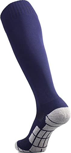CWVLC Soccer Socks (1/3/5 pairs) Team Sport Knee High Socks for Adult Youth Kids product image