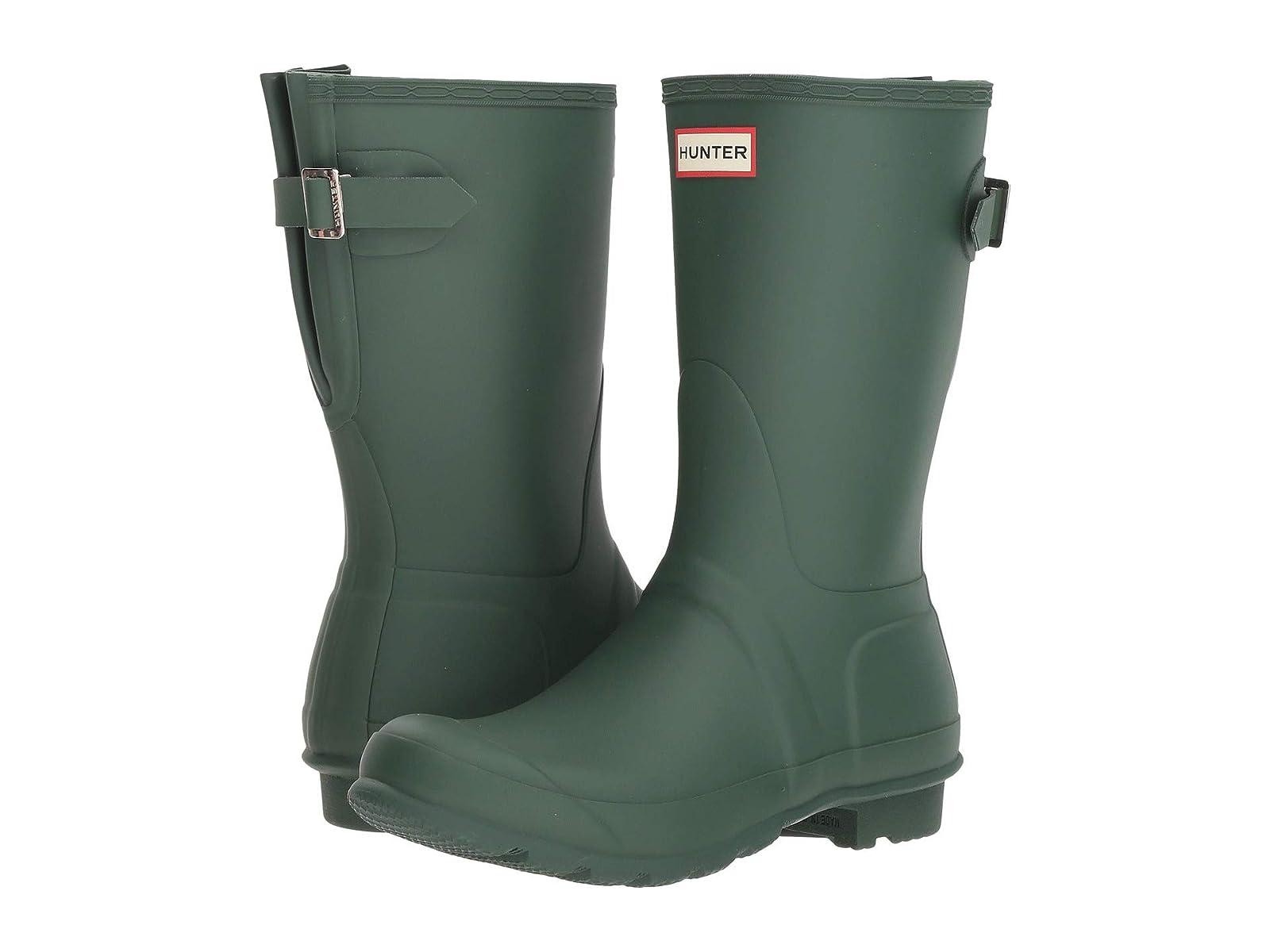 Gentleman/Lady:Hunter Original Short Back feast Adjustable Rain Boots: brand feast Back bad7c8