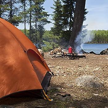 Relaxdays Lot de 10 piquets de Sol en Roche - pour sols durs - Piquets fluorescents - Accessoires de Tente - Camping - Ancrage en Acier - 30 cm - Blanc