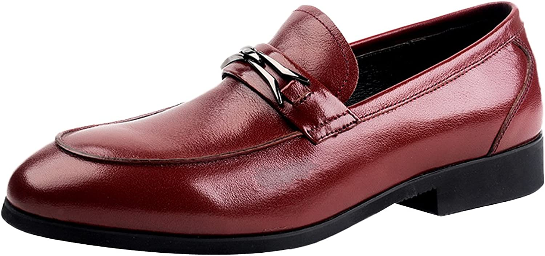 Insun Herren Leder Pointed Kleid Halbschuhe Schuhe B01JUSNOP0  | Hat einen langen Ruf