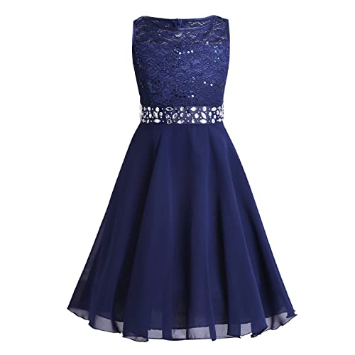 80722e2d4eb23 Navy Blue Dress for Girls: Amazon.co.uk