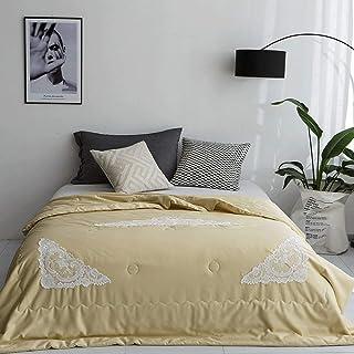 Edredón Confort Verano- Edredón de Verano de edredón Fino de Fibra de Lyocell Edredón de Cama de Aire Acondicionado for Primavera/Verano/otoño (Color : 6#, Size : 200x230cm)