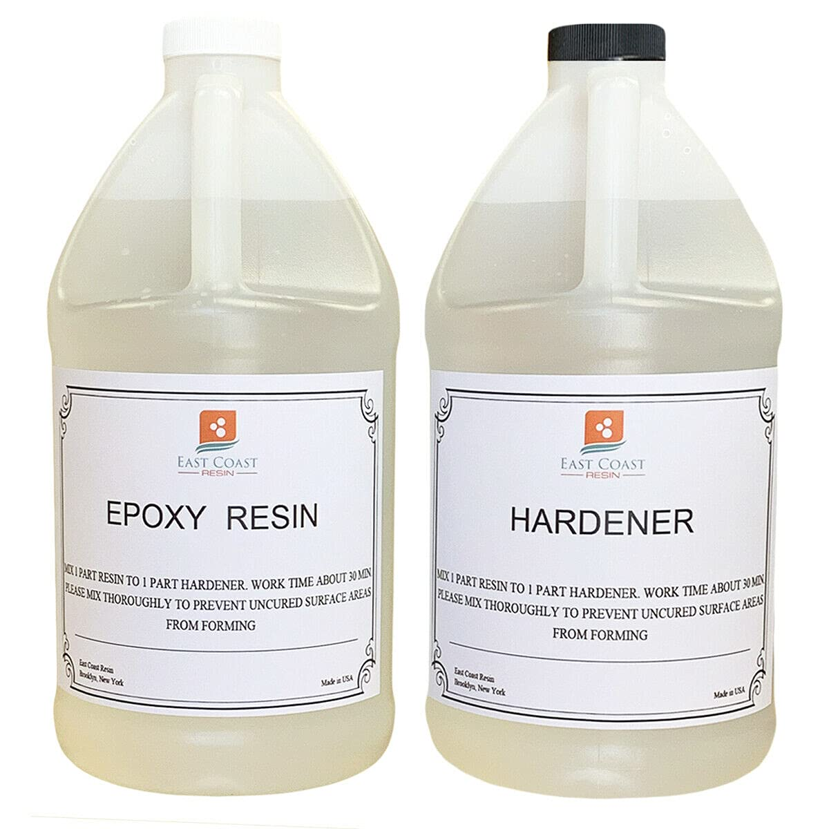 2 Pcs Sale New item item of EPOXY Resin 1 Gal Super General kit Purpose Gloss for
