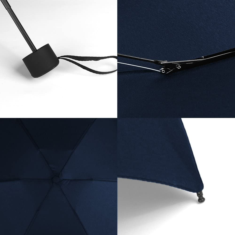 GAOYAING Mini Travel Umbrella Sun/&Rain Lightweight Small and Compact Suit for Pocket Parasol with 99/% UV Protection for Women Men Kids