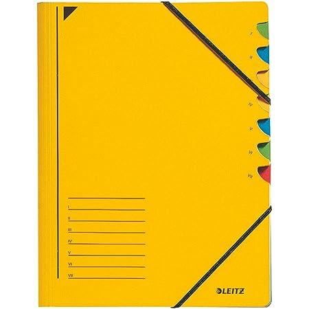 LEITZ ライツ パート ファイル 7 A4 イエロー 3907-00-15