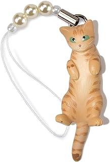ペットラバーズ 猫どん LadyCat vol.7 茶トラ ビーズ ストラップ N-2708