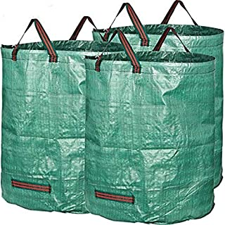 MAHAO Large 272 Liters/60 UK Gallons Garden Waste Bag (H76cm/30, D67cm/26.4