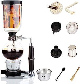 Syphon Coffee Maker Japanese Style Vacuum Glass Siphon Pot Percolators 1-3 Cups Siphon Coffee Maker Syphon Coffee Maker
