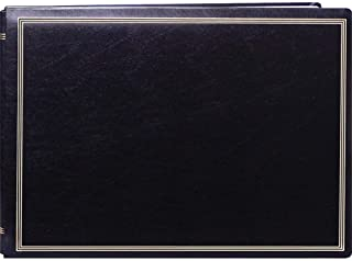 """Pioneer Photo Albums JMV207-BL Magnetic X-Pando Album 20 Page size up to 14"""" x 11"""" Black"""