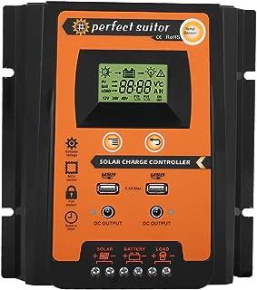 40A 24 V Solarmodul Regulador LCD-Anzeige Automatischer Batteriecontroller Akozon MPPT-Laderegler PCB-Leiterplatte 12 V