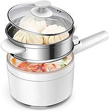 JTJxop Poêle Électrique Multifonction, Cuisinière Électrique De 1,5 L, Mini Pot Multifonctionnel avec Protection Contre La...
