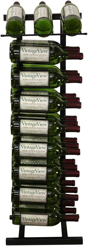VintageView Point of Purchase National products Diplay - Bottle Ranking TOP15 Floor Wine 27 Rack
