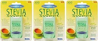 (3 PACK) - Hermesetas - Stevia Sweet | 300's | 3 PACK BUNDLE