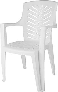 كرسي بمسند للذراع العروسة من الهلال والنجمة، 89.5×59 سم - ابيض