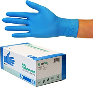 comprar comparacion Guantes de nitrilo transparente Guantes libres de látex sin polvo Limpieza Guantes sanitarios para la cocina Cocina Limpie...