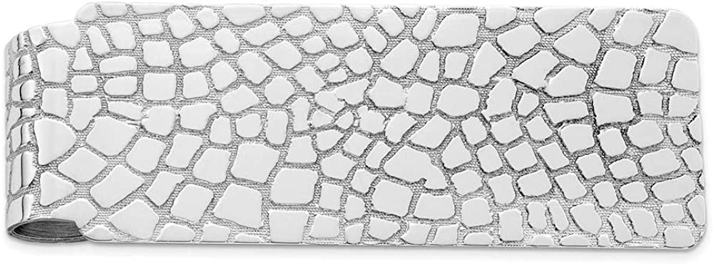 Sterling Silver wholesale Rhodium-plated Money Clip QQ136 19mm style Max 61% OFF 51mm