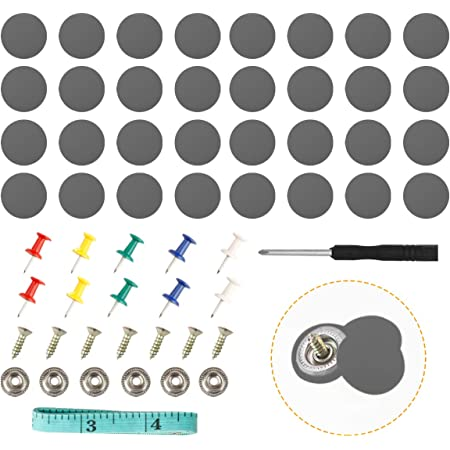 Lantee 240 Pcs Push Type Car Retainer Clips Kit Fit for Toyota Honda Acura GM Ford Chrysler Mitsubishi with Plastic Storage Case