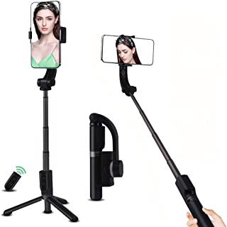 Gimbal Stabilizer Video Stabilizer Two-Button Remote Version with Novel Shooting Mode for Cell Phone, One Axis Video Stabi...