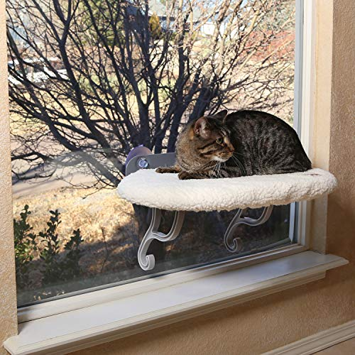 KH 779071 Pets, Universal Mount Kitty Sill, Katzen-Fensterbett, Fleece