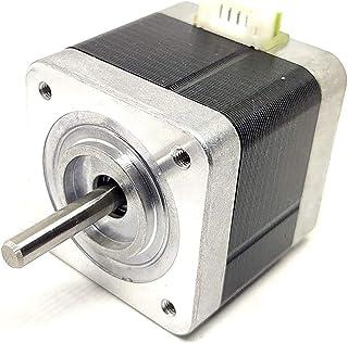 Unique India 5 Pcs Nema 17 4 Kg-cm Bipolar Stepper Motor 22mm shaft For CNC Robotics DIY Projects 3D Printer