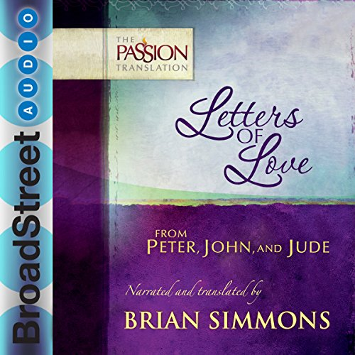 Letters of Love from Peter, John, and Jude audiobook cover art