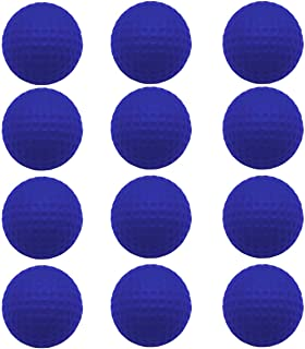 FingerTen Golf Balls Practice Foam Value 12Pcs/24Pcs,Soft Elastic Restricted Flight Indoors and Outdoors Training Aid Ball