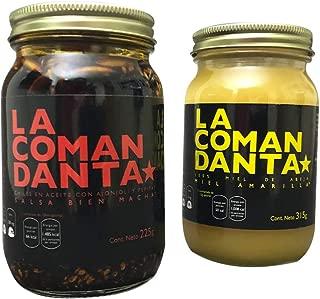 1 Salsa Bien Macha 225g + 1 Miel Amarilla de Acahual Silvestre de 315g