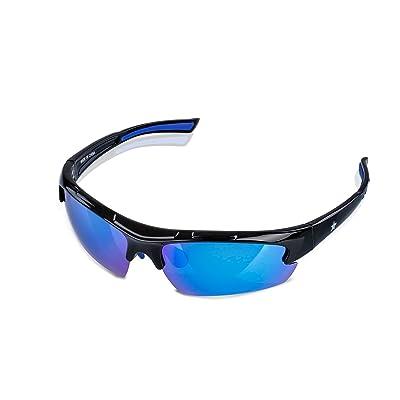 NAVESTAR Polarized Sports Sunglasses Unbreakabl...