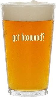 got boxwood? - Glass 16oz Beer Pint