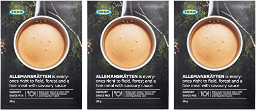 IKEA ALLEMANSRÄTTEN Mix for cream sauce (Pack of 3)