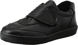 Bellino Wide Velcro Strap Stitched Detail Faux Leather Fashion Sneakers for Boys