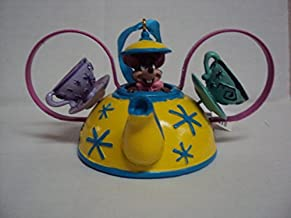 Disney Parks Teacup Ride Mad Tea Party Mickey Mouse Ears Hat Ornament