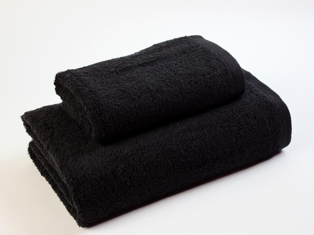 EL DRAGON BLANCO Pack Lavabo con Toalla de Baño, 100% Algodón, Negro, 50 x 100 100 x 150 cm: Amazon.es: Hogar