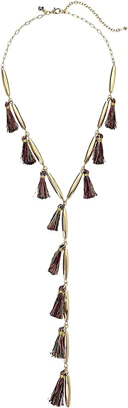 Rebecca Minkoff - Multi Tassel Y-Necklace