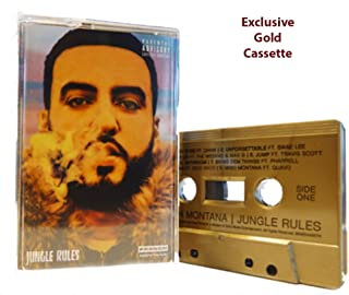 French Montana- Jungle Rules Exclusive Gold Colored Cassette