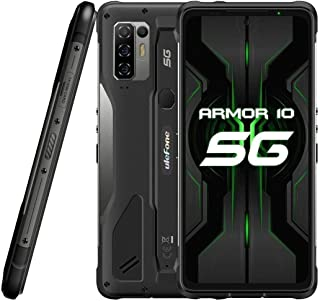 5G Móvil Resistente Ulefone Armor 10【2021】, Dimensity 800 8GB RAM 128GB ROM 2TB SD Externa, 64MP Quad Cámara, Smartphone A...