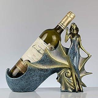 LJXLXY Porte-Bouteilles européen conque Toast Belle Armoire à vin Maison Salon intérieur présentoir de Bureau Décoration C...