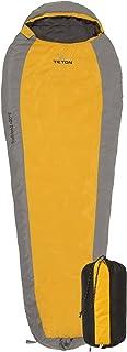 TETON Sports TrailHead Ultralight Mummy Sleeping Bag; Lightweight Backpacking Sleeping Bag for Hiking and Camping Outdoors; Sleep Anywhere; Stuff Sack Included; Never Roll Your Sleeping Bag Again