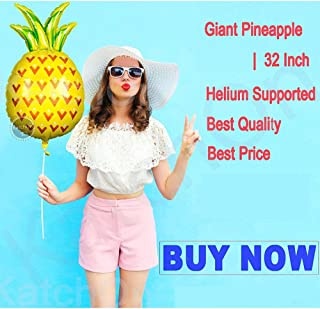 Pineapple Balloons For Birthday Party Decorations Baby Shower Fruit balloons For Summer Party tropical Party Supplies Pine...