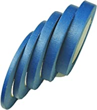 5pk 1/4 3/8 1/2 5/8 3/4 in Blue Painters Tape 60yd ea Medium Tack Masking Tape Multi Surface Clean Release 30 Day Removal
