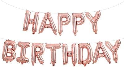 Best happy birthday rose gold Reviews