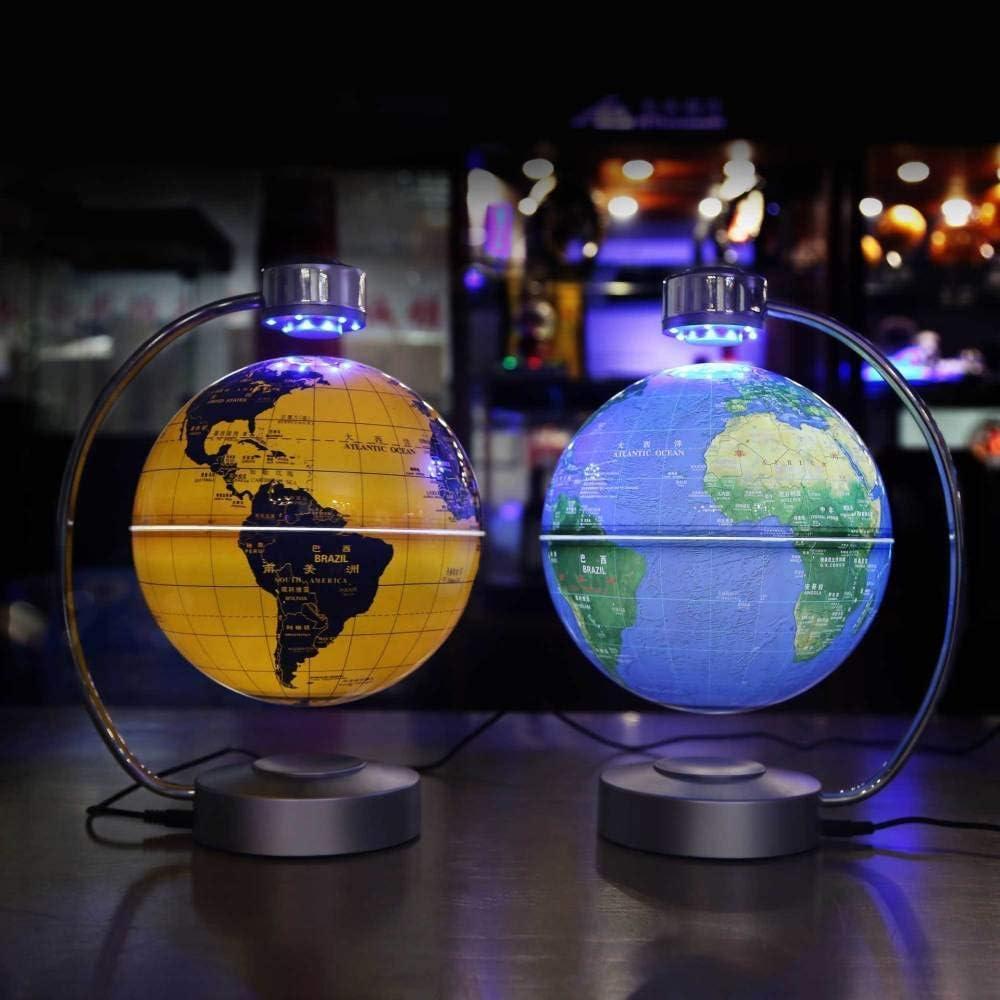 Magnetische Levitatie Globe 8-inch Rotatie Creatieve Gift Ingemaakte Show Maanlicht Verjaardagscadeau Voor Decoratie Op Kantoor en Thuis Voor Kinderen Gift N