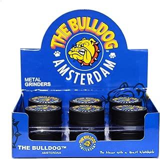 El Bulldog Amsterdam Grinder Especias, Tabaco, Hierbas Grinder Metálico con Polen Colector 2