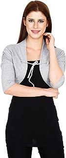 Teemoods Women's Cotton Short Shrug, Summer Shrugs for Women