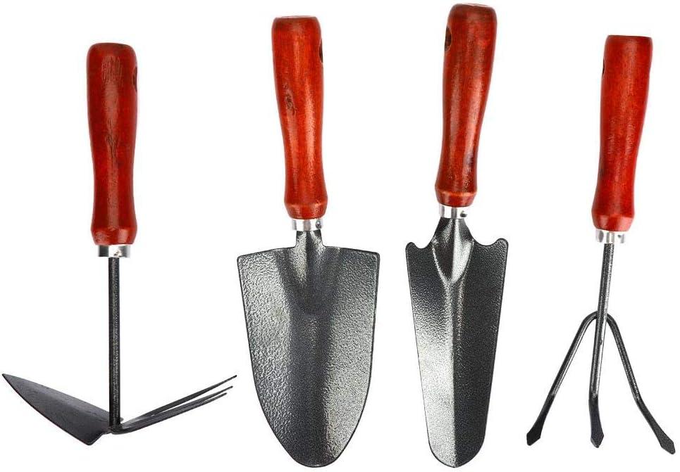 4Pcs Set Garden Shovel Boston Mall Tool Kit Flo Trust Thickened Rake