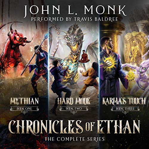 Chronicles of Ethan Complete Series audiobook cover art