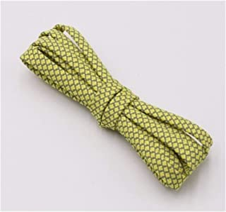 FDBHA Shoelace Runners Woven Belt Sports Safety Shoelaces Shoelaces for Running Shoes (Color : 314 Yellow 3M, Size : 70cm)