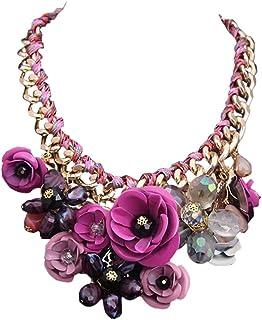 stile limitato vendita outlet Promozione delle vendite Amazon.it: collane fiori - Bijoux a piccoli prezzi: Gioielli