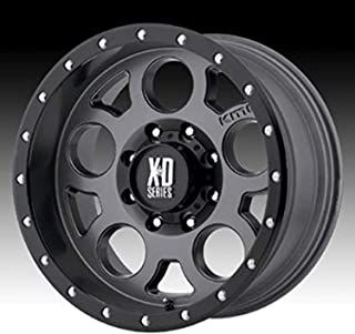 XD Series by KMC Wheels XD126 Enduro Pro Matte Gray Wheel with Black Ring (20x9