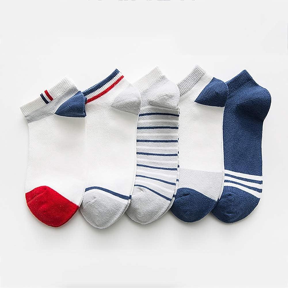 持続的大破研磨DAODK 春と秋の子供の靴下、汗を吸収し、通気性、シン夏メッシュ少年少女ベビーベビーソックス (Color : A, Size : XS)